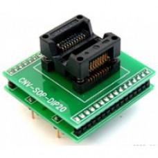 【ADP-027】 SOIC20-DIP20 (CNV-SOP-DIP20) adapter