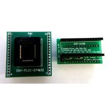 【ADP-029】 PLCC32-DIP32-DIP28 ZIF Adapter