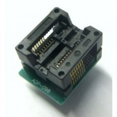 【ADP-098】 SPI SOIC16 - DIP8 adapter
