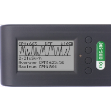GMC-600 Geiger Counter Radiation Monitor  Alpha, Beta, Gamma, X-Ray Radiation