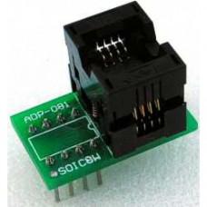【ADP-081】 SOIC8-DIP8 adapter (~200mil) SA684